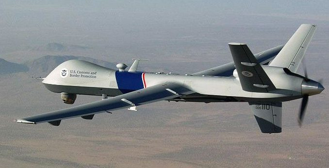 MQ-9 Reaper photo by CBP