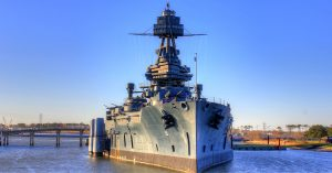 USS Texas In Critical Condition
