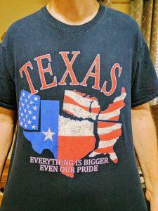 Texas pride shirt