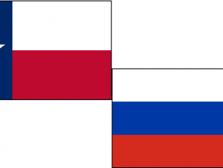 U.S. and Russia Flags